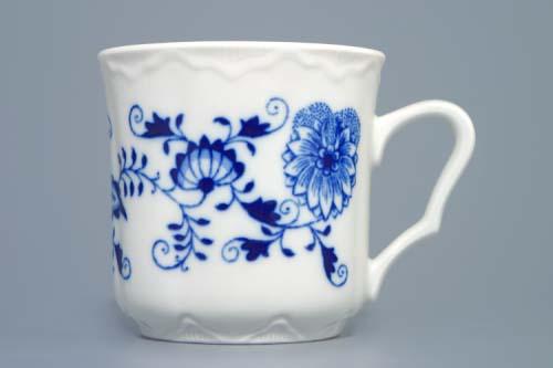 Zwiebelmuster Mug Karel M 0.27L, Original Bohemia Porcelain from Dubi