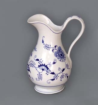 Zwiebelmuster Jar, Hygine Set 5.0L, Original Bohemia Porcelain from Dubi
