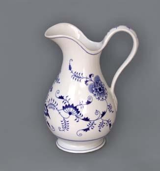 Zwiebelmuster Jug, Hygene set 5.0L, Original Bohemia Porcelain from Dubi