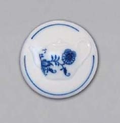 Zwiebelmuster Magnet Round (Teapot) 4.5cm, Original Bohemia Porcelain from Dubi