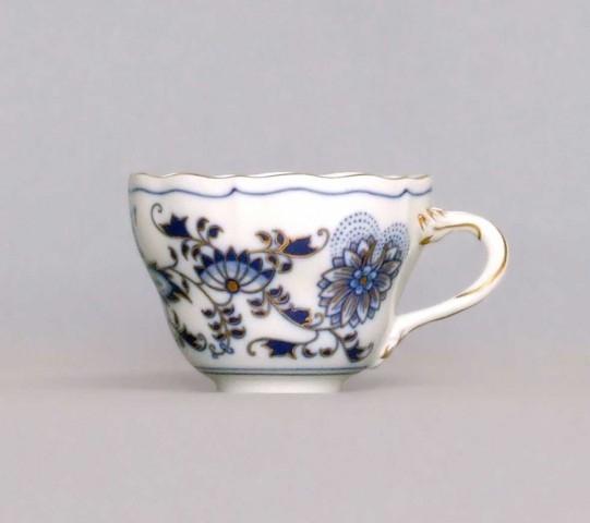 Zwiebelmuster Tasse hoch A/1 Bohemia Porzellan aus Dubi