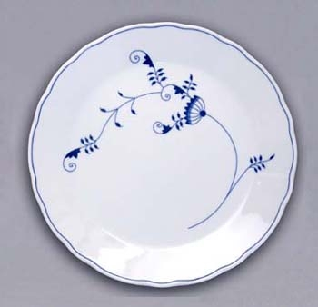 ECO Zwiebelmuster Club Plate 30cm, Bohemia Porcelain from Dubi