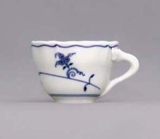 Eco Zwiebelmuster Cup A Tall, Bohemia Porcelain from Dubi