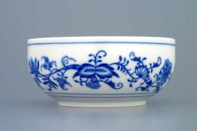 Zwiebelmuster Dish Tall and Smooth 13.2cm, Original Bohemia Porcelain from Dubi