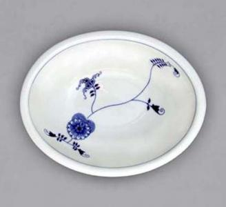 Eco Zwiebelmuster Baking Form Oval, Bohemia Porcelain from Dubi
