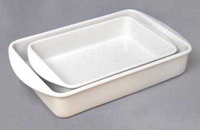 Zwiebelmuster Baking Dish Set Duo, Bohemia Porcelain from Dubi
