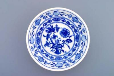 Zwiebelmuster Dish Smooth Low 16.2cm, Original Bohemia Porcelain from Dubi